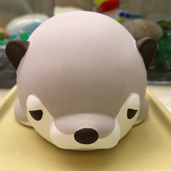 Nemu Nemu Animals Ceramic Humidifier (Otter)
